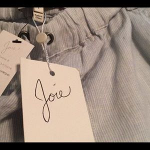 Joie striped linen pant